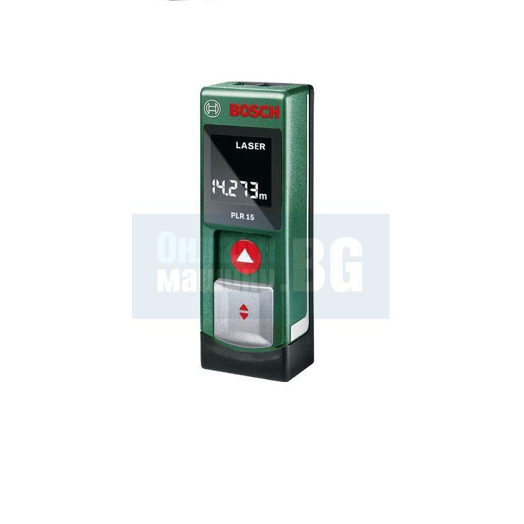 Лазерна ролетка Bosch PLR 15 / 15 m /  в метална кутия