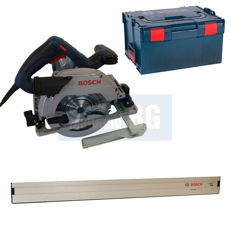 Ръчен циркуляр Bosch GKS 55+ GCE Professional / 1350 W , Ø диск165 mm /