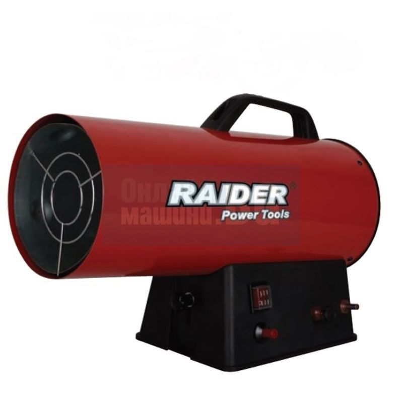 Калорифер на газ RAIDER RD-GH15 / 15kW, дебит 300 m3 /h /