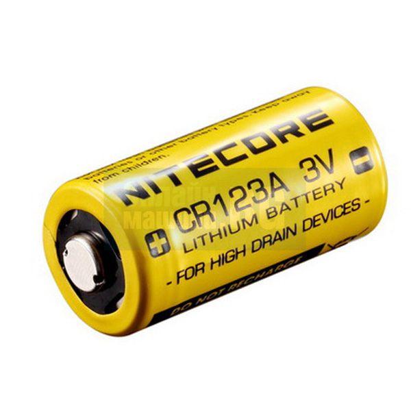Литиева батерия Nitecore CR123A / 3 V /