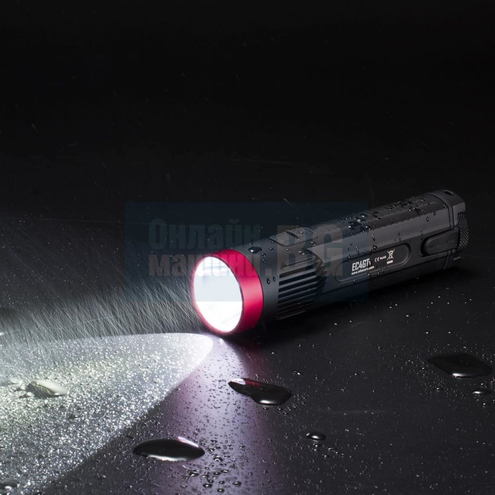 Фенер Nitecore EC4GT Limited Edition Red / 1000 lum, 475 m