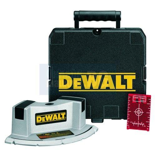 Лазерен нивелир с 2 лъча за плочки DeWALT DW060K