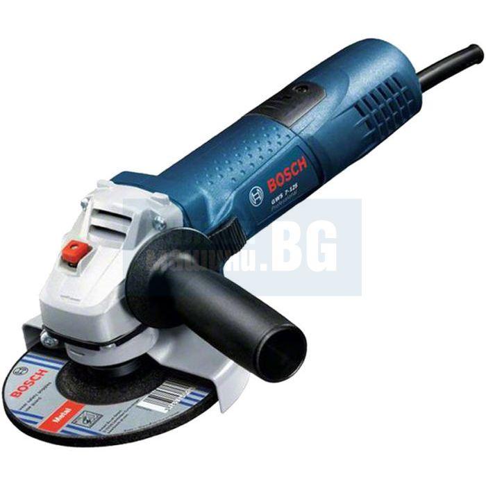 Bosch gws 7 125 720w 11000r min 1 125mm - Bosch gws 7 125 ...