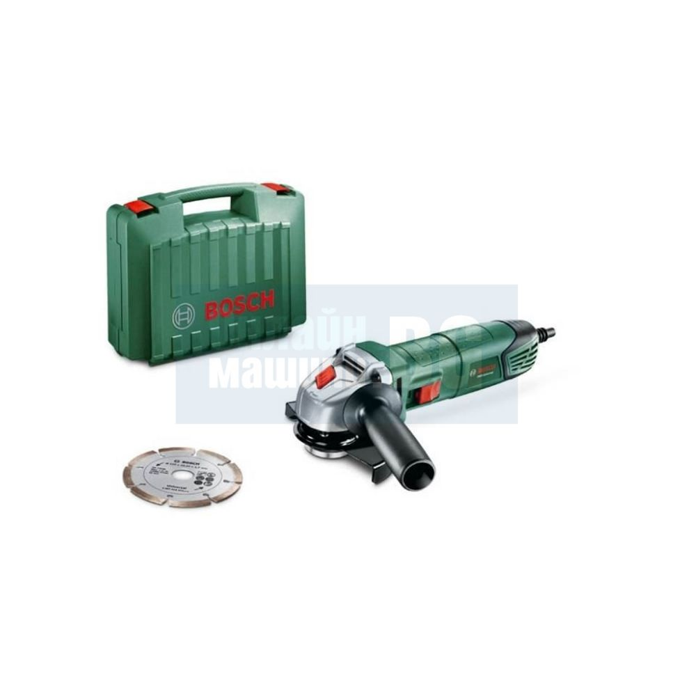 Ъглошлайф с диамантен диск Bosch PWS Universal /700 W, 115 мм./