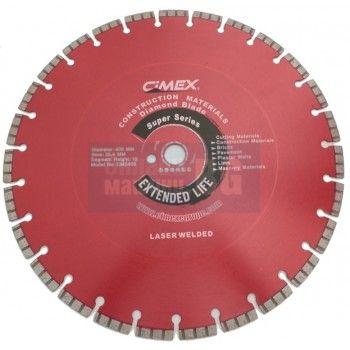 Диамантен диск за строителни материали Cimex CMS650 / 650 mm, 25.4 mm / + БЕЗПЛАТНА ДОСТАВКА