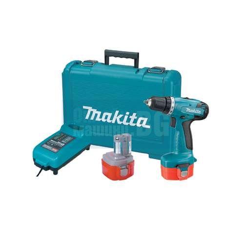 Винтоверт/бормашина акумулаторен 14,4V Makita 6281DWPE /куфар, 2 батерии и зарядно/