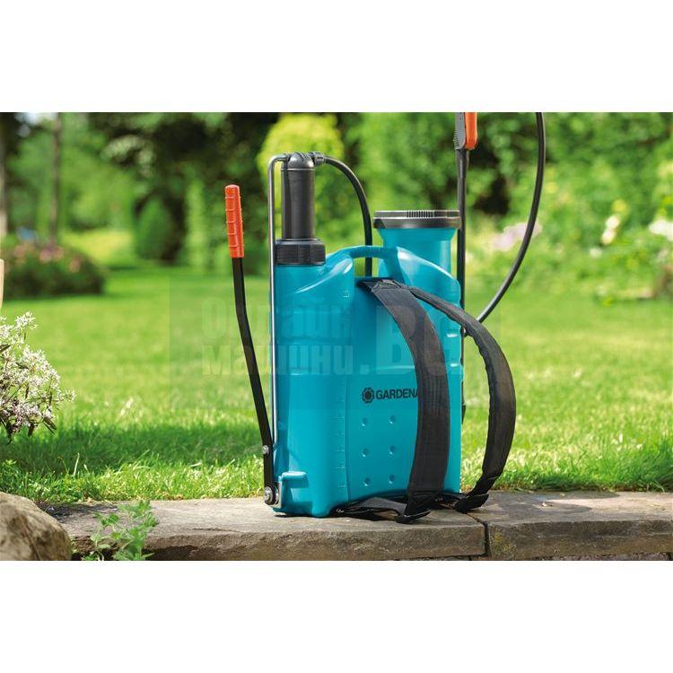 Пръскачка гръбна без манометър 12 литра Comfort Gardena 884-20