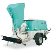 МАШИНА ЗА сухи и полусухи замазки IMER Mover 270 DB  /двигател Deutz BF3M2011, 48.5kW/