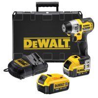 Винтоверт ударен акумулаторен DeWALT DCF895M2 /290W, 2 батерии, зарядно у-во, куфар/