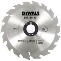 Диск циркулярен HW за дърво DeWALT DT1156 /235/30мм./