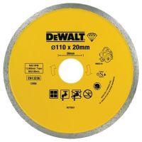Диск диамантен за мокро рязане на гранит, мрамор и керамика DeWALT DT3714 /110/20мм./