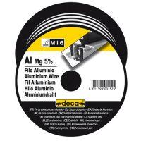 Тел заваръчна за телоподаващо устройство DECA Al/Mg 5% /алуминий/магнезий 5%, D 0.8мм./