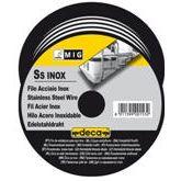 Тел заваръчна за телоподаващо устройство DECA INOX ASIS 308 /неръждаема стомана, D 0.8мм./