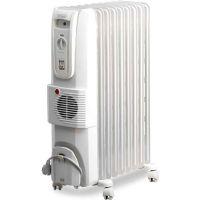 Маслен радиатор DeLonghi KH 770925 V, 2500W, 9 ребра