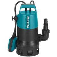 Потопяема помпа за мръсна вода Makita PF0410 / 400W , воден стълб 5 м /
