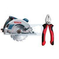 Циркуляр Bosch GKS 190 / 1400 W , Ø 190 mm /