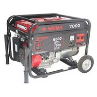 Бензинов генератор GREEN GARDEN WM 7000E /6.5Kw - 7.0Kw, с електростартер + акумулатор/