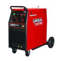 Синергично трифазно/монофазно телоподаващо устройство LINCOLN Powertec 305C PRO/30-300A/
