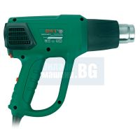 Пистолет за горещ въздух DWT HLP20-600 K, накрайници