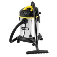 Прахосмукачка за сухо и мокро почистване Lavor Venti XE / 1600 W + Eл.контакт, инокс/