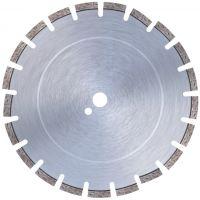 """Диамантен диск серия """"Premium"""" за асфалт (машини до 10 kW и над 10 kW) Bavaria Tools /за моторни фугорези, Ø 450 мм, защитен с ъглови сегменти /"""