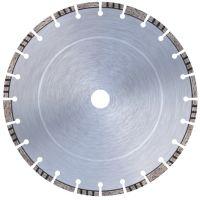 Диамантен комбиниран диск за асфалт и бетон (машини до 10 kW и над 10 kW) Bavaria Tools /за моторни фугорези, Ø 350 мм, със сегменти за защита на основата на диска /