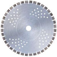 Диамантен диск за бетон, твърд клинкер и общи строителни материали Bavaria Tools MC-400254 за моторни фугорези /48 сегмента/