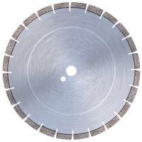 Диамантен диск за замазки, абразивни строит.материали, пясъчници, тухли, керемиди, асфалт Bavaria Tools AU-1-350254 за моторни фугорези /24 сегмента/