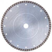 Диамантен диск за естествени и твърди изкуствени камъни, тухли, бетон, керамика Bavaria Tools TFC-250254 за настолни машини /непрекъснат сегмент Turbo/