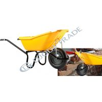 Строителна количка  HMM 110  /110 л. капацитет, пластмасово корито/