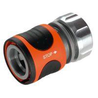 Бърза връзка/конектор стоп клапан GARDENA Premium /13 мм. (1/2 цола)/