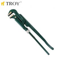 Професионален тръбен ключ TROY T 21000, 1'' / човка 85° /