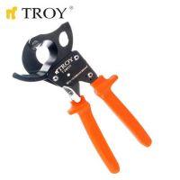 Ножица за рязане на кабели с изолирани дръжки TROY T 24011 / 32 мм. макс. диаметър на рязане /