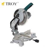 Циркуляр за ъглово рязане TROY T 15255 / 1600 W , Ø 255 mm /
