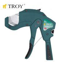 Ножица за PVC тръби TROY T 27045 / 42 милиметра /