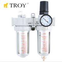 Пневматичен филтър, регулатор и омаслител TROY T 18622 / 1/2''(N)PT /