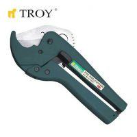 Ножица за PVC тръби TROY T 27047 / 42 милиметра /