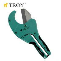 Ножица за PVC тръби TROY T 27064 / 64 милиметра /