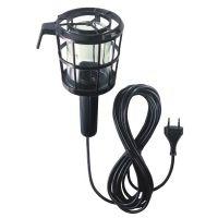 Подвижна лампа с пластмасова предпазна решетка Hugo Brennenstuhl 60W 5m.