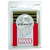 Кламери NOVUS тип 4 /30 х 6,1 мм./