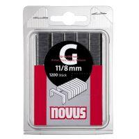 Кламери NOVUS тип 11 /12 мм., 600 бр./