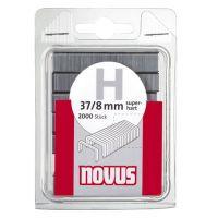 Кламери NOVUS тип 37 /8 х 10,6 мм., 2000 бр./