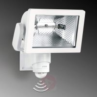 Прожектор халогенен със сензор Steinel HS 500 DUO /бял, 500W/