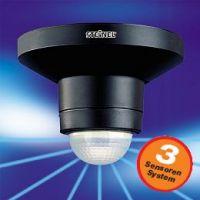 Сензор инфрачервен Steinel IS 360 TRIO /1000W, черен/