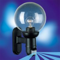 Лампа със сензор Steinel L 560 S, 60 W, черна