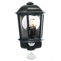 Лампа със сензор Steinel L 190 S /100W, черна/