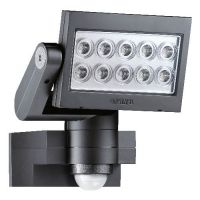 Прожектор светодиоден със сензор Steinel XLed 10 /25W, черен/