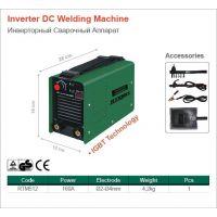 Електрожен инверторен RTR MAX RTM512 /20-160A, 2-4 мм./