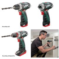 Двускоростна акумулаторна отвертка Metabo POWERMAXX BS BASIC 10.8V, 2 батерии, 2 Ah