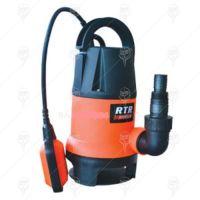 Потопяема дренажна водна помпа RTR Premium WP004D /400W, 1 цол, воден стълб 5 м / с поплавък